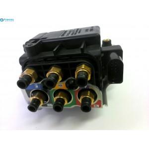 Блок клапанов пневмоподвески VW Touareg NF