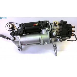 Компрессор пневматической подвески с блоком клапанов VW Touareg
