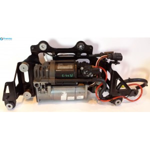 Компрессор пневматической подвески с датчиком температуры Audi A8 (D4, 4H)