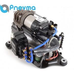 Компрессор пневматической подвески с блоком клапанов BMW 7 series G11/G12